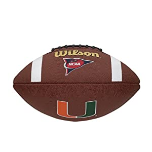 NCAA Miami Hurricanes Team Composite Football