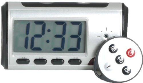 Digital Mini-Clock with Hidden DVR Camera