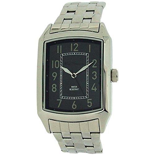 Ben Sherman Gents Analogue Black Dial Silver Tone Bracelet Strap Watch R863