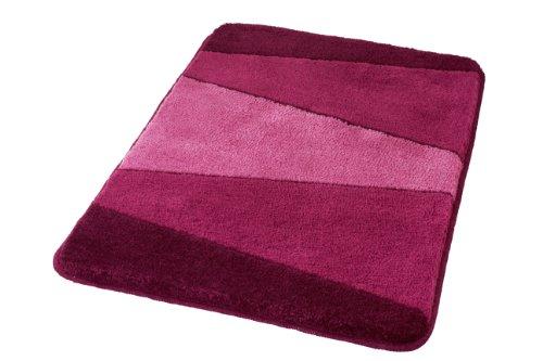 Kleine Wolke 5496461317 Badteppich Palm Beach, 80 x 150 cm, purple