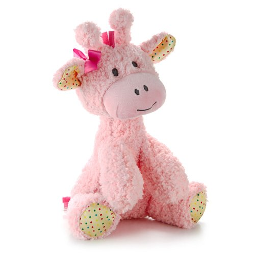 Hallmark Baby Pink Plush Giraffe Stuffed Animal