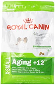 Royal Canin Aging Dry Pet Food for X-Small Dogs Aged 12 Plus, 2.5-Pound