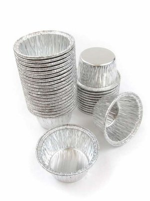 Disposable Aluminum Individual 2 Oz Foil Cups/ramekins. #S220 (1,000)