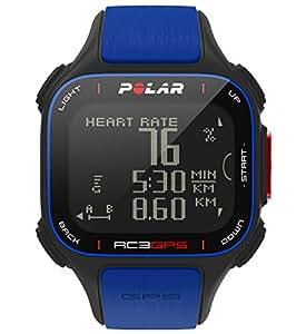 Polar RC3 Cardiofréquencemètre/GPS avec ceinture cardiaque Bleu