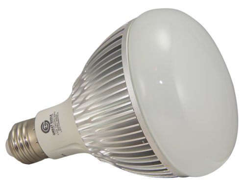 Genuine Great Eagle LED BR30/R30 IdealK Bulb. 11W = 90W Equivalent UL Certified 3000K 120° Beam Angle Fully Dimmable Wide Flood Light for Recessed and Track Lighting Fixtures - 5 Year Warranty backed by USA Seller. Replacement bulb for Incandescent or Halogen bulb with E26 Medium Base (Standard screw in base for the U.S.)