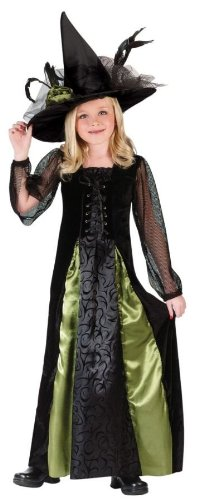 Costumes For All Occasions FW5999SM Small Witch Goth Maiden Child