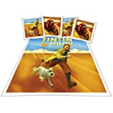 Tintin Desert 200 DBO Parure Linge de Lit 200 x 200 cm