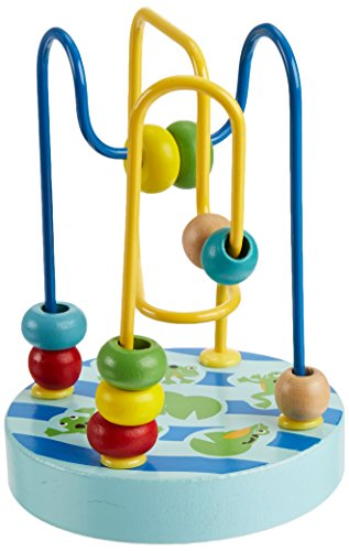 Manhattan Toy Wobble-A-Round Beads, Blue
