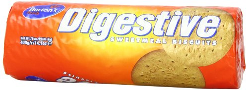 Burton's Digestives Sweetmeal Biscuits, 14.1-Ounce
