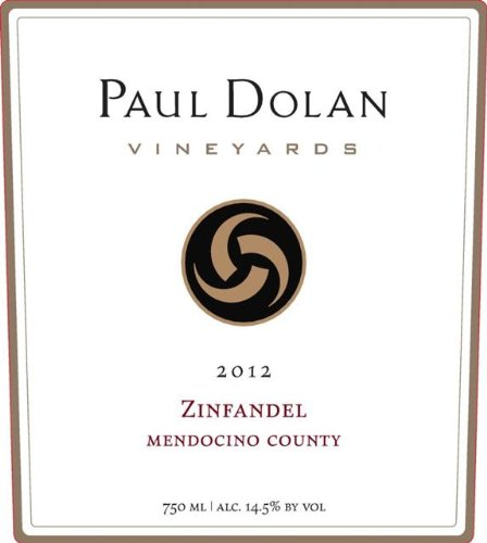 2012 Paul Dolan Vineyards Zinfandel Mendocino County 750 Ml