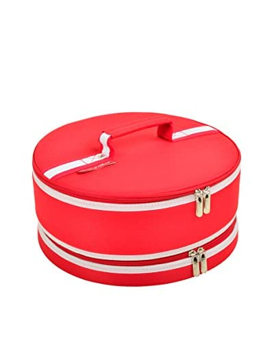 Picnic at Ascot Cake Carrier, Red