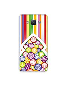 SAMSUNG GALAXY A3 ht003 (142) Mobile Case from Mott2 - Colorful Bamboo Unique... (Limited Time Offers,Please Check the Details Below)
