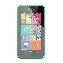 Stuffcool Crystal Clear Screen Protector Screenguard for Nokia Lumia 530 (CCNK530)