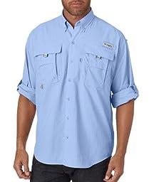 Columbia Men\'s Bahama II Long Sleeve Shirt, Sail, 3XL