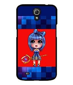 printtech Anime Girly Scepter Back Case Cover for Samsung Galaxy Mega 6.3 i9200::Samsung Galaxy Mega 6.3 i91200