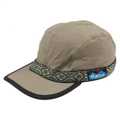 KAVU(カブー) ストラップ キャップ 帽子 メンズ レディース Lサイズ オリーブ 11863001-L-11863001207