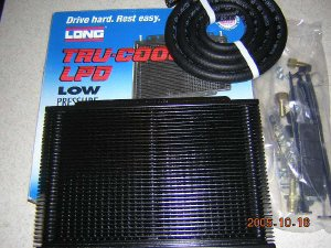Long Tru-Cool LPD Transmission Oil Cooler 4454 18,000 GVW