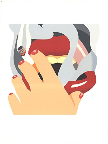 Signed 1976 Tom Wesselmann Smoker, from an American