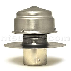 """American Aldes 4"""" Roof Cap For Flat Roofs"""