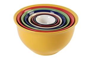 Gibson sensations 8 piece nesting bowl set for Sur la table mixing bowls