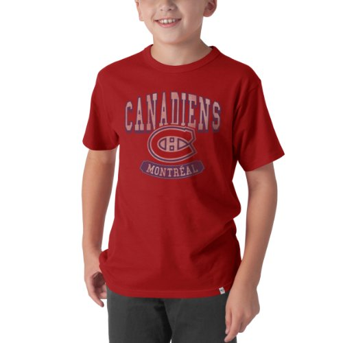 Nhl Montreal Canadiens Flanker Tee, X-Large, Rescue Red front-920372