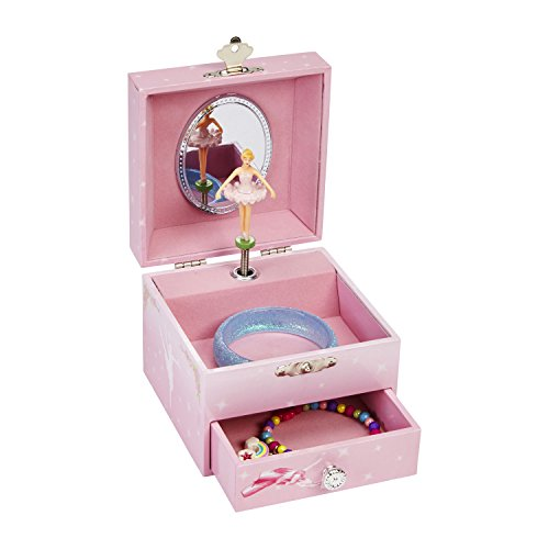 Jewelkeeper musical jewelry box with twirling ballerina for Amazon ballerina musical jewelry box