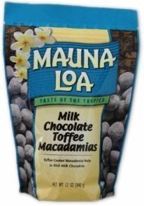 Hawaiian Lunch Bag Gift Basket Mauna Loa Macadamia Nuts Milk Chocolate Toffee 4 Bags #10