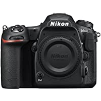 Nikon D500 20.9MP 4K Ultra HD Wi-Fi Digital SLR Camera Body (Black)