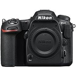 Nikon D500 DX-Format 21MP 4K Digital SLR Camera Body - Black