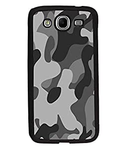 Fuson Millitary Pattern Back Case Cover for SAMSUNG GALAXY MEGA 5.8 - D3683