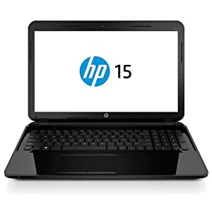 HP 15-D009TU 15.6-inch Laptop (Sparkling Black) with Laptop Bag