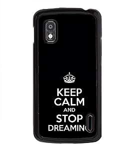 ifasho Designer Phone Back Case Cover LG Google Nexus 4 E960 ( Cup Cake Ice Cream Food Theme )