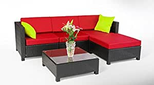 Amazon.com : Patio Furniture-Patio Furniture Sets-5PC Furniture