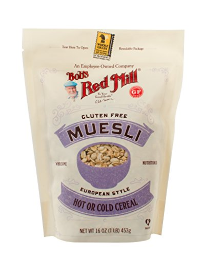 Bob's Red Mill Gluten Free Muesli, 16-Ounce (Package May Vary) (Gluten Free Muesli compare prices)