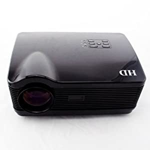 3*HDMI USB LED Multimedia HD Projector 1080P for Home Theater Native 1280*768