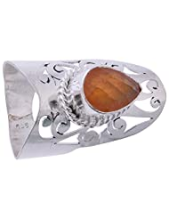 925SilverCollection Silver Plated Amethyst Stone Designer Ring Size 8.5