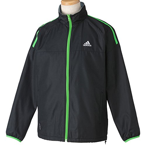 (アディダス)adidas M CLX ベーシックウィンドブレーカージャケット JDP04 S06658 ブラック J/L