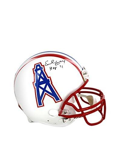 Steiner Sports Memorabilia Earl Campbell Houston Oilers Helmet Inscribed HOF 91