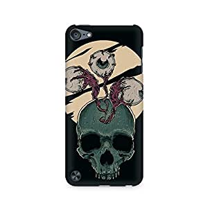 Mobicture Skull Abstract Premium Printed Case For Apple iPod Touch 6