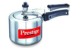 Prestige Nakshatra Plus Induction Base Aluminium Pressure Cooker, 2 Litres