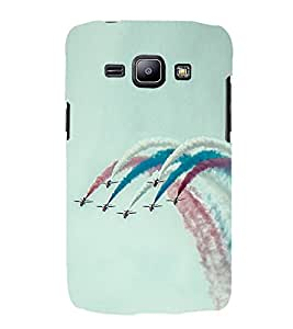 Vizagbeats Flights and Air Show Back Case Cover for Samsung Galaxy J1 2016 Edition