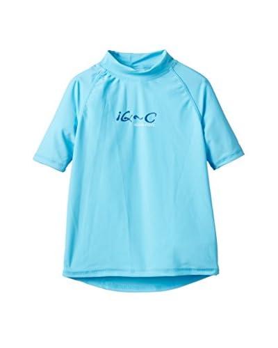 IQ Camiseta Técnica UV 300 Turquesa