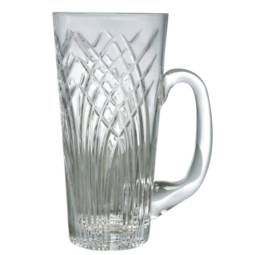 Crystal Beer Stein-Mouth Blown