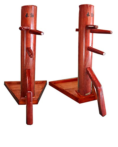Wing chun dummy with modern free stand