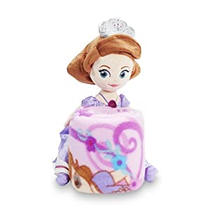 Sofia The First Throw And Pillow Set : Amazon.com: Disney Princess Sofia the First Throw Blanket & Pillow Set: Home & Kitchen