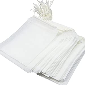 COMING Disposable Tea Filter Bags - 100 Count