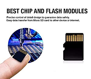 HH 1024GB SD Micro Memory Card with Free Adapter, High Speed 1TB SD Micro Card Class 10 Memory Card for Memory Expansion, Movie Music Storage, Portable Carrying, Data Copy and Traffic Recorder Mem