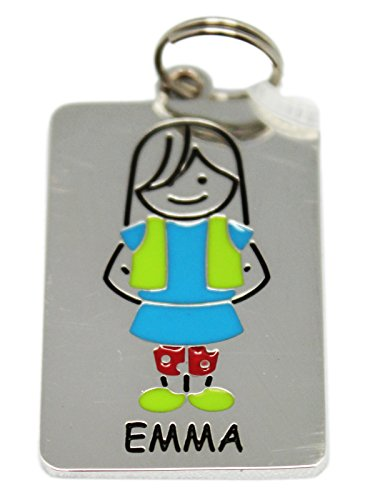 Ganz Kids Tag Charms - My Kids Keyring and Necklace - EMMA