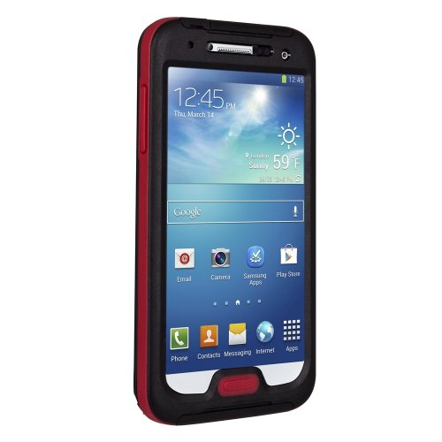 Seidio Obex Waterproof Case for Samsung Galaxy S4 - Black with Red Black Friday & Cyber Monday 2014