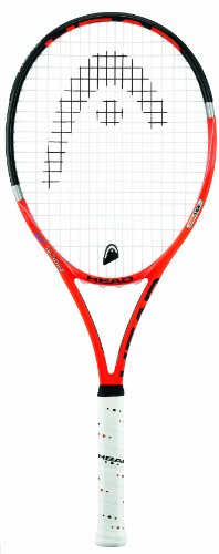 Head Radical Lite Tennis Racquet - Orange/Black, 3 Grip